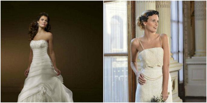 Créditos: foto izquierda de Boutique Mi Encanto/foto derecha de Box In White