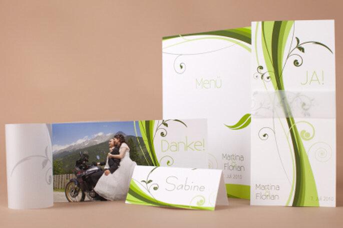 Hochzeits-Set von Dankeskarte.com