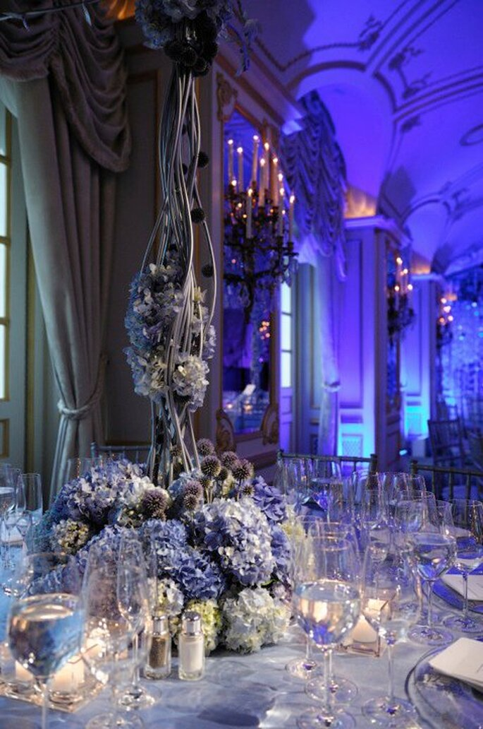Montaje de boda súper elegante para 2014 - Foto Preston Bailey