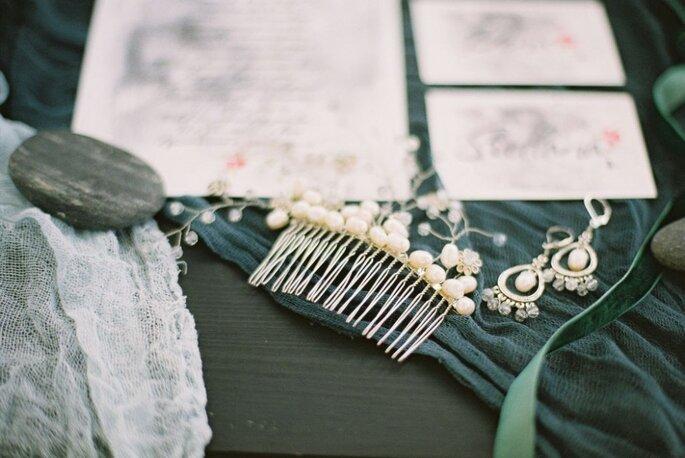 Свадебные украшения: Мария Леонова