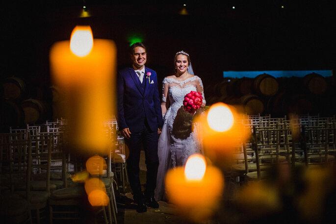 Ritual das velas - Foto: David y Oriana