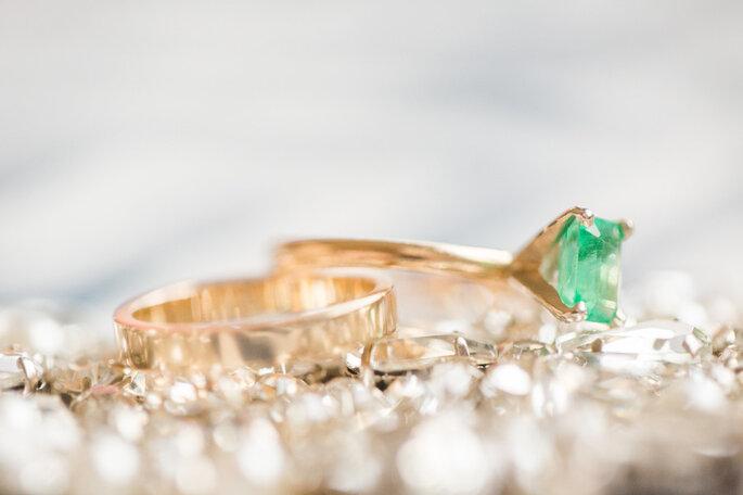 El significado de las piedras preciosas del anillo de compromiso -