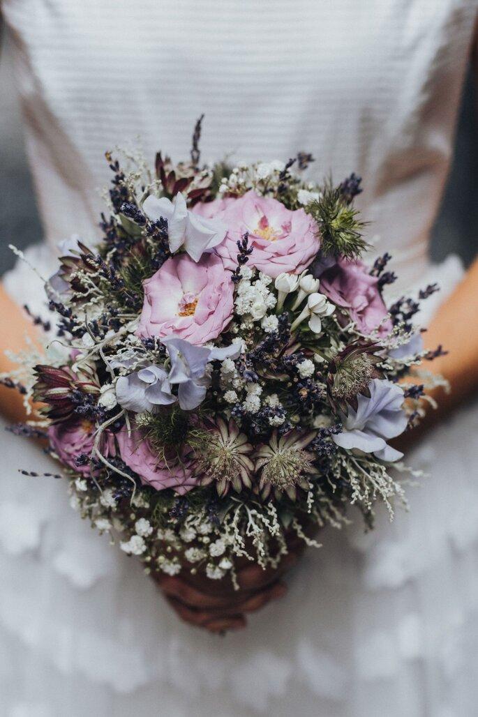 Brautstrauß von Vera Ritler.