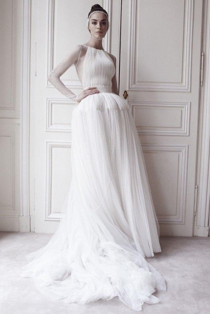 Los más hermosos vestidos de novia de las colecciones alta costura - Foto Delphine Manivet
