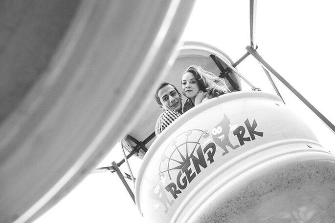 Sesión de novios hiper divertida de Sofi & Dario. Foto: Life's Moments