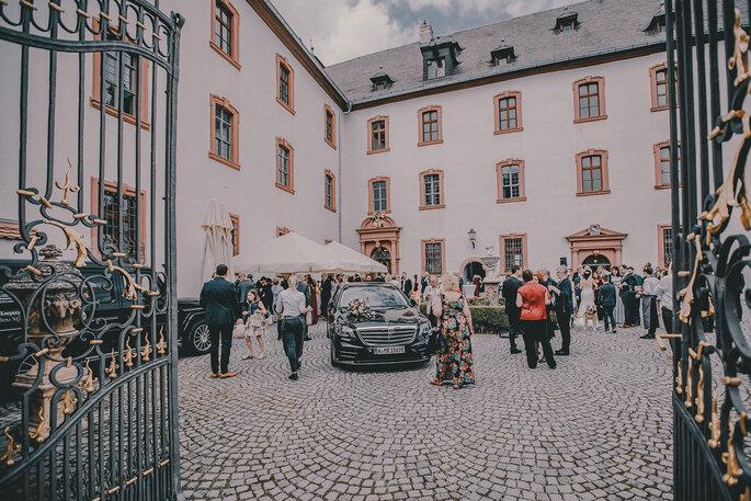 Hochzeitslocation Schloss Walkershofen