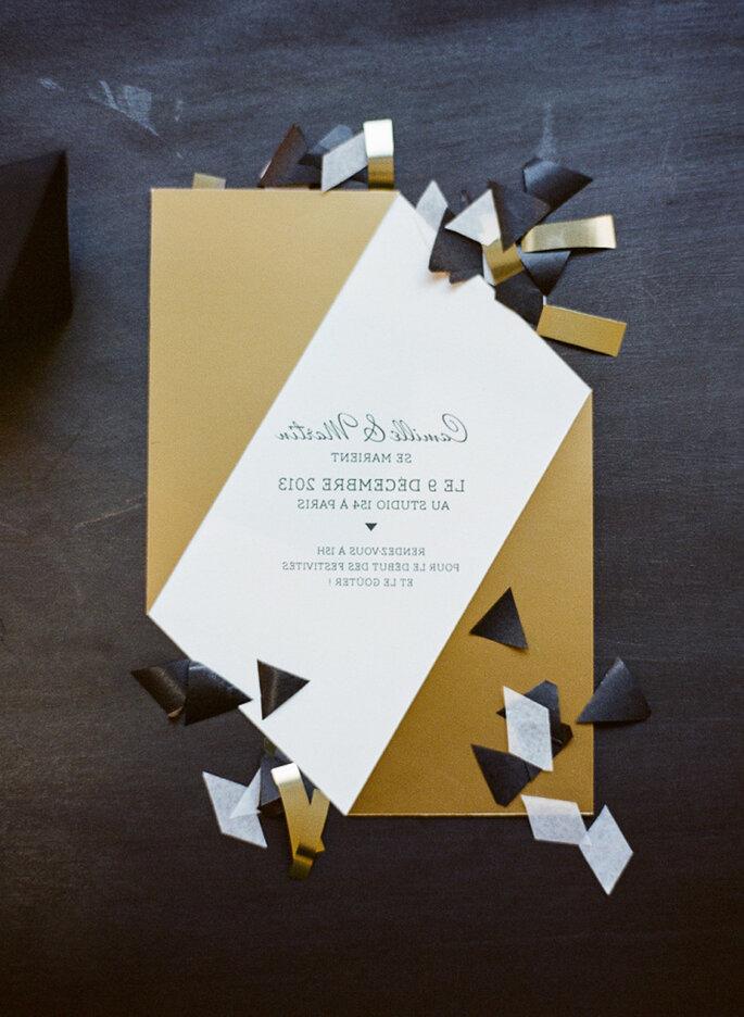 Invitaciones de boda. Credits: Greg Finck