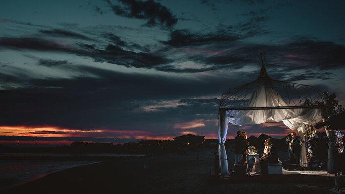 Casamento à noite