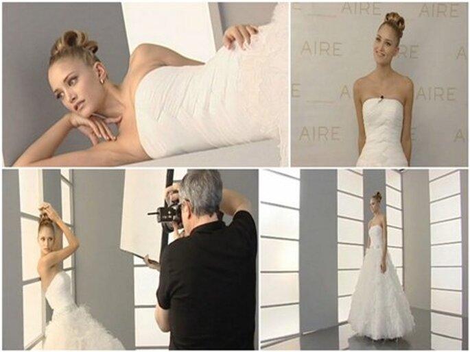 Coleção vestidos de noiva Aire 2012