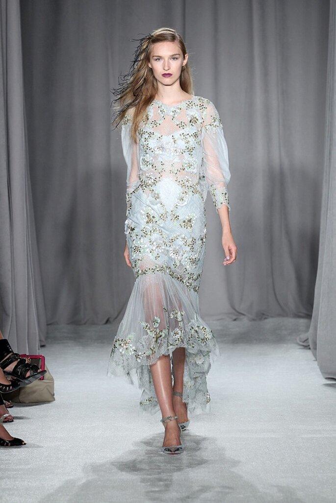 Increíbles vestidos de novia boho chic - Foto Marchesa