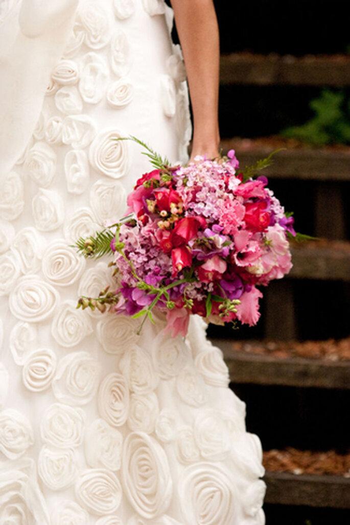 Brautstrauss Sommerblumen
