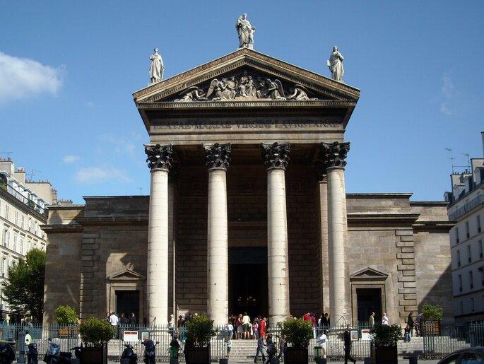 La chapelle-basilique Notre-Dame-de-Lorette