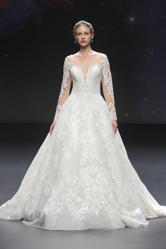 Robe de mariée vintage princesse