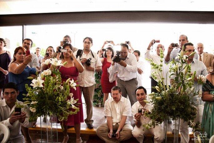 Cómo elegir la ropa para una boda de día. Foto: Arturo Ayala