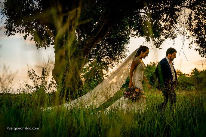 Ensaio noivos pós-cerimônia