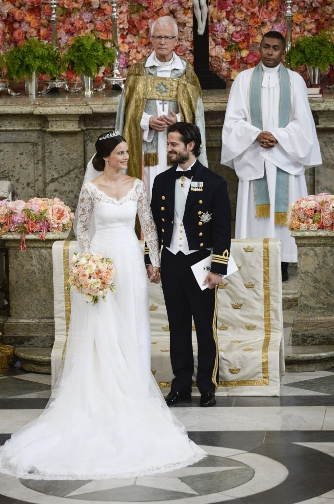 Príncipes Carlos Felipe y Sofía de Suecia. Créditos: Gtres Online