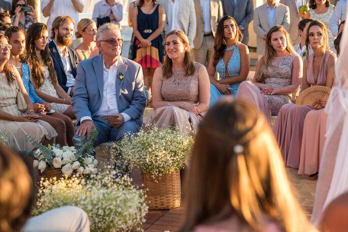 convidados na cerimônia