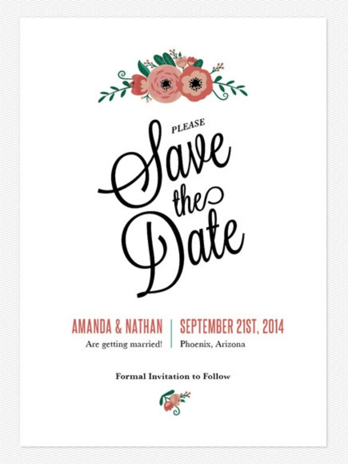 Save The Date Vs Wedding Invitation is perfect invitation template