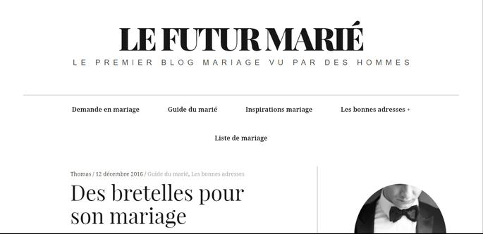 Photo : Le Futur Marié