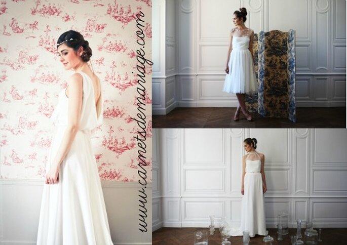 Votre coiffure de mariée doit s'adapter à votre robe