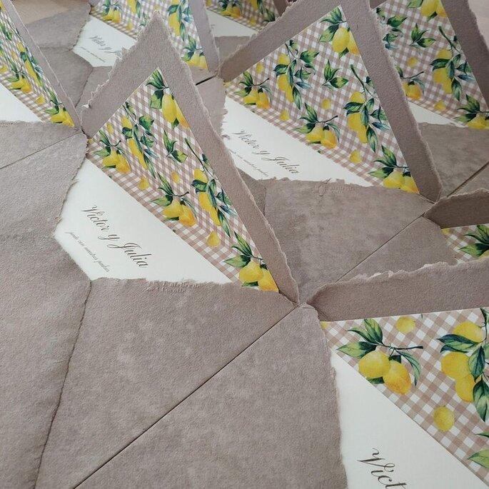 L'Atelier de Cocotte invitaciones de boda Zaragoza