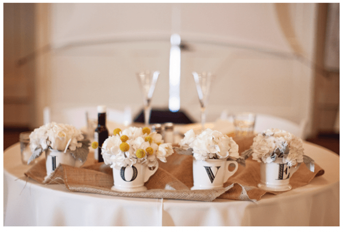 Vintage decor for your wedding - Photo: Joielala Photographie