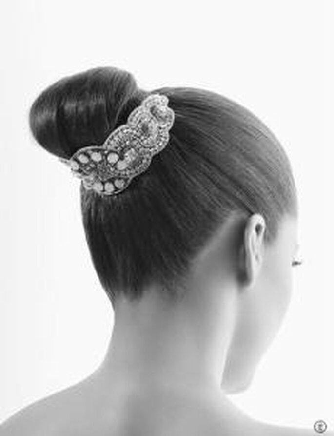 Rosa Clara -2010 Coiffure en forme de joyaux antique