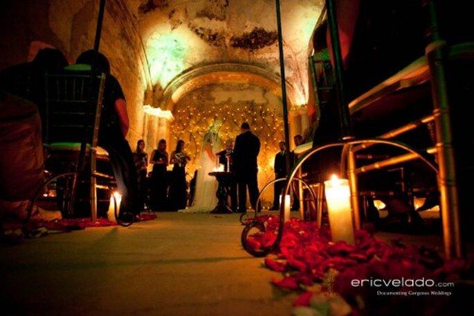 Decoración de boda para tu camino al altar. Fotografía Eric Velado
