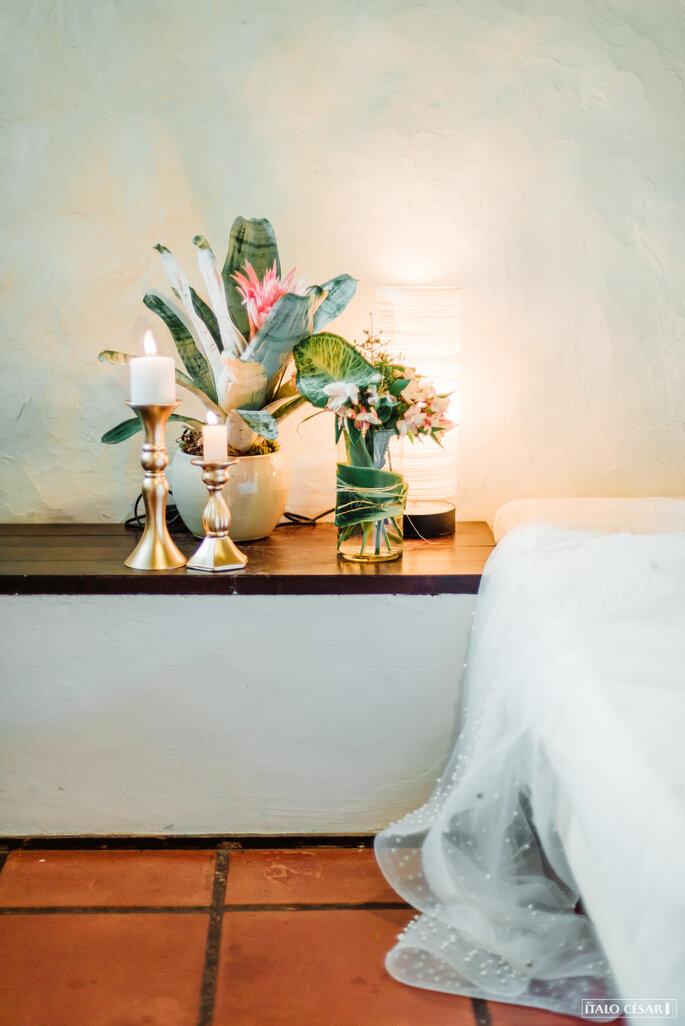 Decoração quarto da noiva
