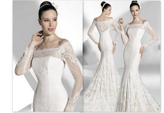 Vestido de novia de Franc Sarabia 2013. Foto: www.francsarabia.com