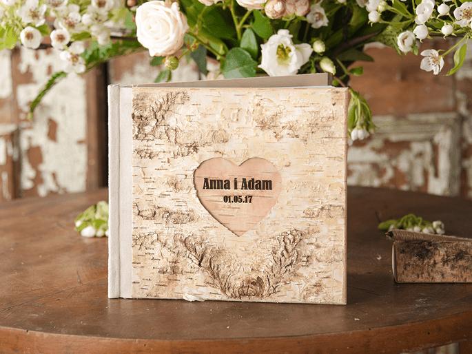 Księgi drewniane z kartkami / Decoris