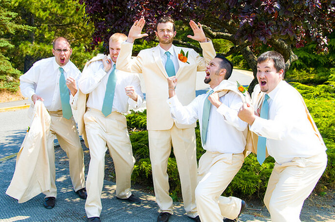 Flickr Groom and his Men Lori CC BY