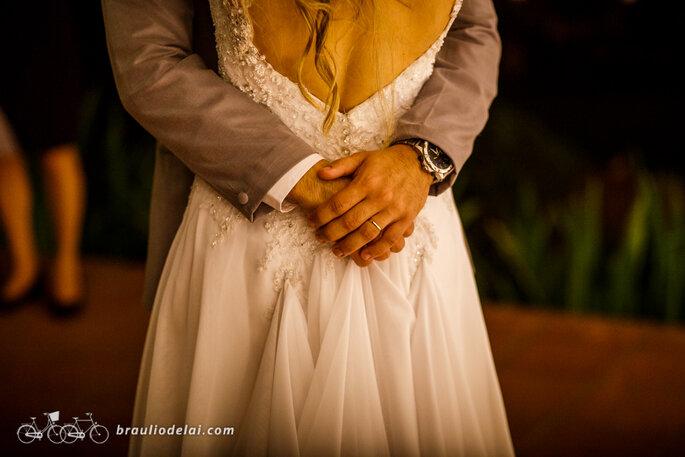 Decote vestido de noiva