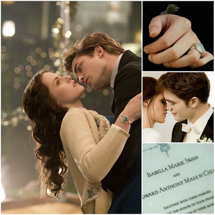 La boda de Bella y Edward en 'Crepúsculo' es una de las más esperadas del cine