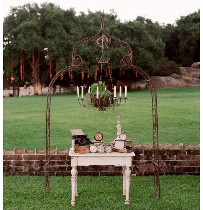 Incroyables idées déco pour un mariage vintage super trendy - Photo Elizabeth Messina