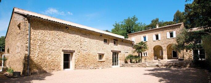 Abbaye Du Grand Gigognan - Lieu de réception pour votre mariage - Vaucluse