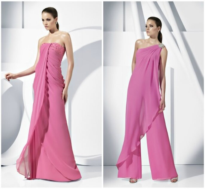 Moda elegantisima maquillaje y moda for Boda en jardin como vestir
