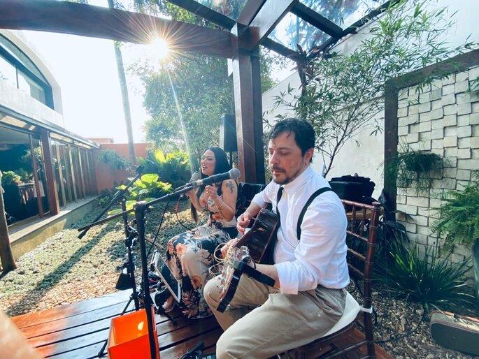 Música ao vivo para casamento