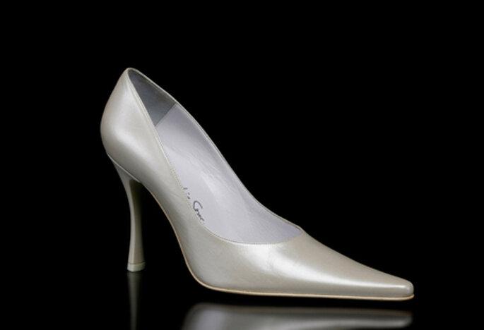 Zapato de novia modelo Alice by Francesco. Tacón de 9,5 cm.