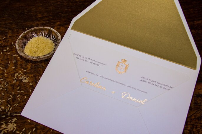 Receber o convite é uma honra para o seu convidado