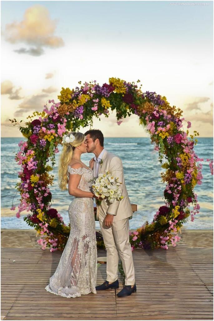 Destination wedding em Arraial d'Ajuda