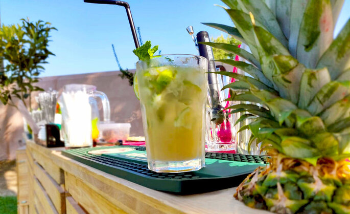 Cocktail de fruta