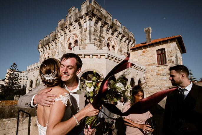 Cumprimento à noiva