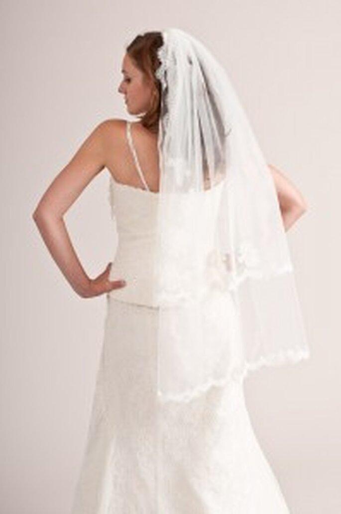küss die Braut: Spitzenschleier