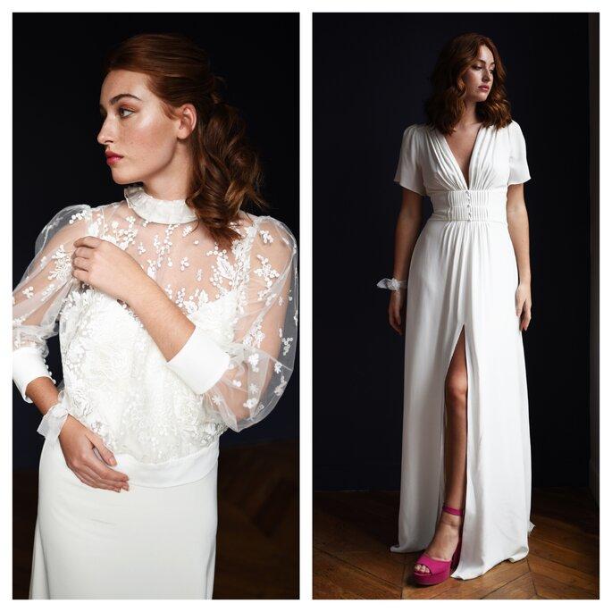 Robes de mariée de Stéphanie Wolff