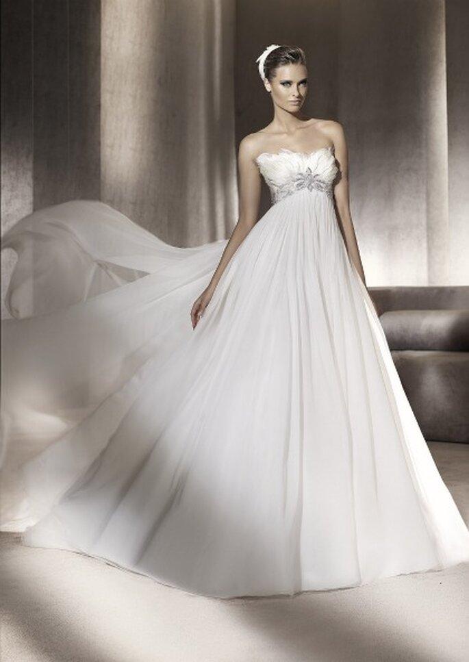 Vestidos de novia Manuel Mota para Pronovias 2012 - Princesa