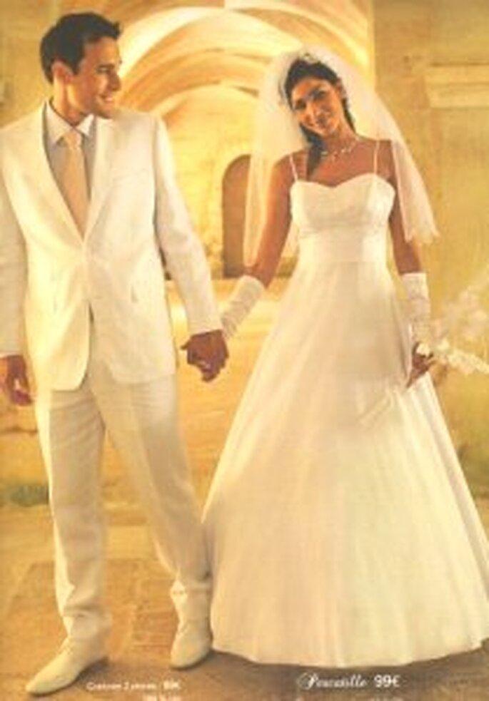 Tati Mariage 2009 - Pescatille 99€ et Costume 2 pièces pour homme 89€