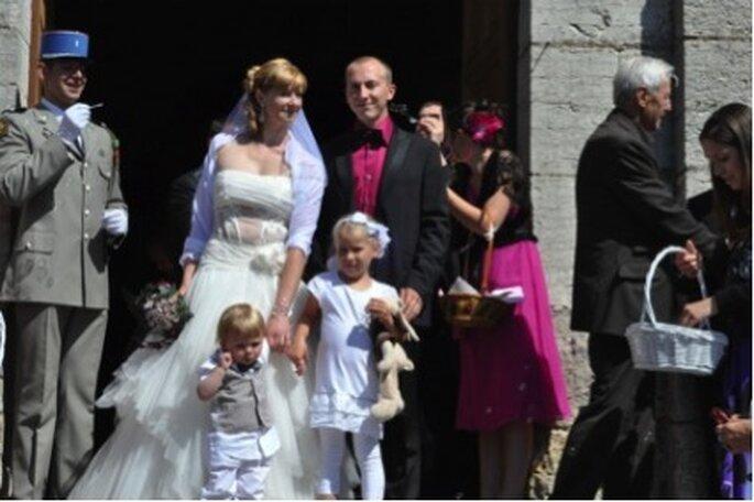 Cérémonie de mariage - Photographe : Sonia BLANC - Mariage gourmand