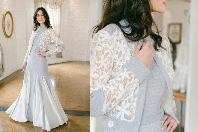 vestido de noiva moletom