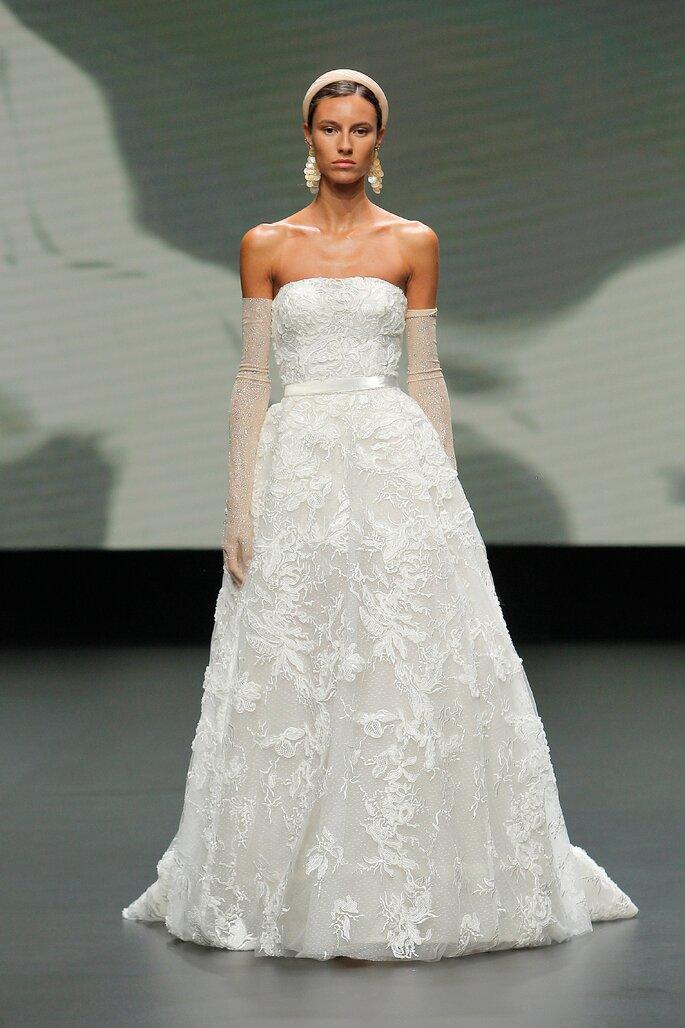 Vestidos de novia palabra de honor